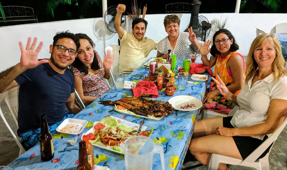 Tamasopo, San Luis Potosi food gathering