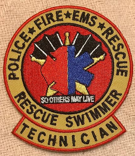 Rescue Swimmer Technician patch