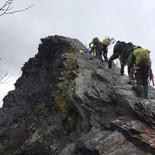Climbing Chimney Tops