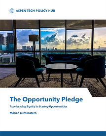Opportunity Pledge White Paper Cover