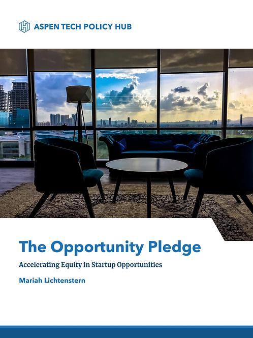 TFE Opportunity Pledge White Paper