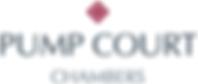 Pump court chambers logo