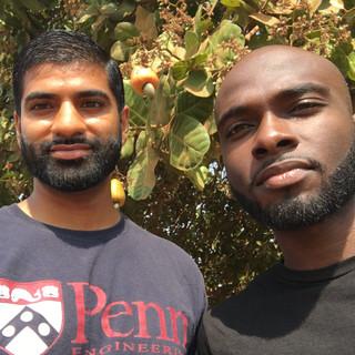 KDHI Team Monitoring Cashew Trees
