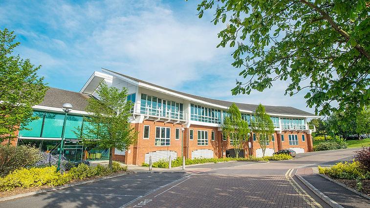 Surrey Technology Centre front entrance KMG