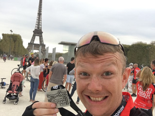 Guess who cycled to Paris?