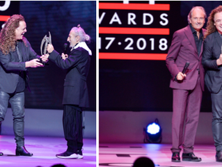 PATRICK CAMERON PRESENTED WITH LEGEND AWARD AT ALTERNATIVE HAIR SHOW