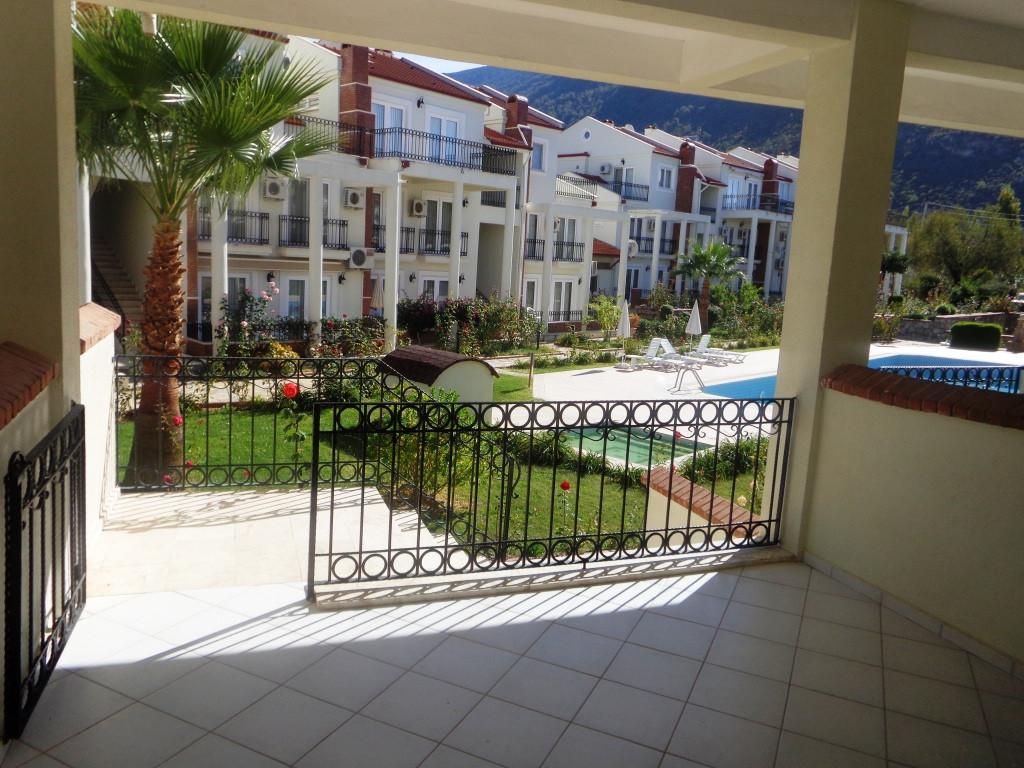 Poolside Balcony, Off Kitchen