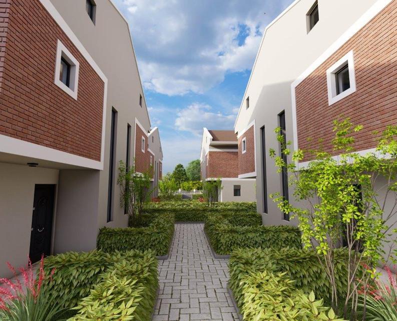 Community of 8 villas