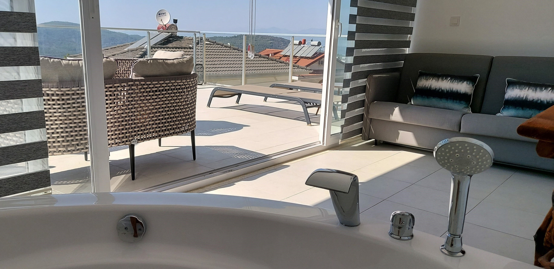 Jacuzzi Bath in Master Bedroom