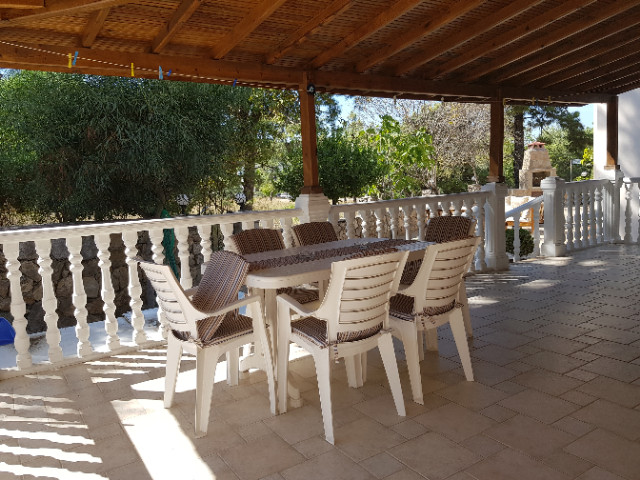 Villa One, Dining Terrace