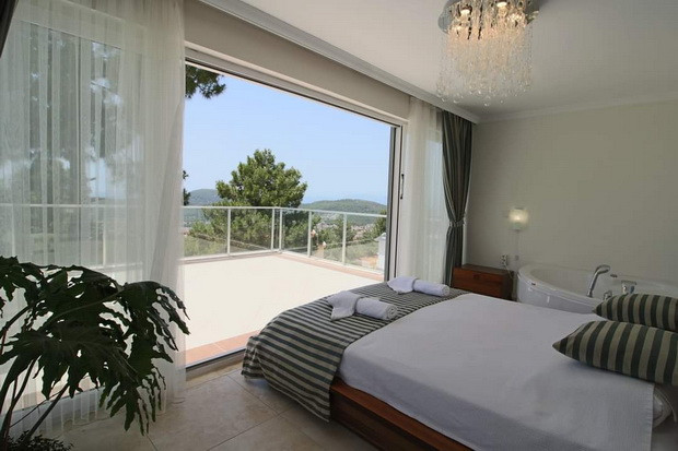 Master Bedroom has Large Terrace