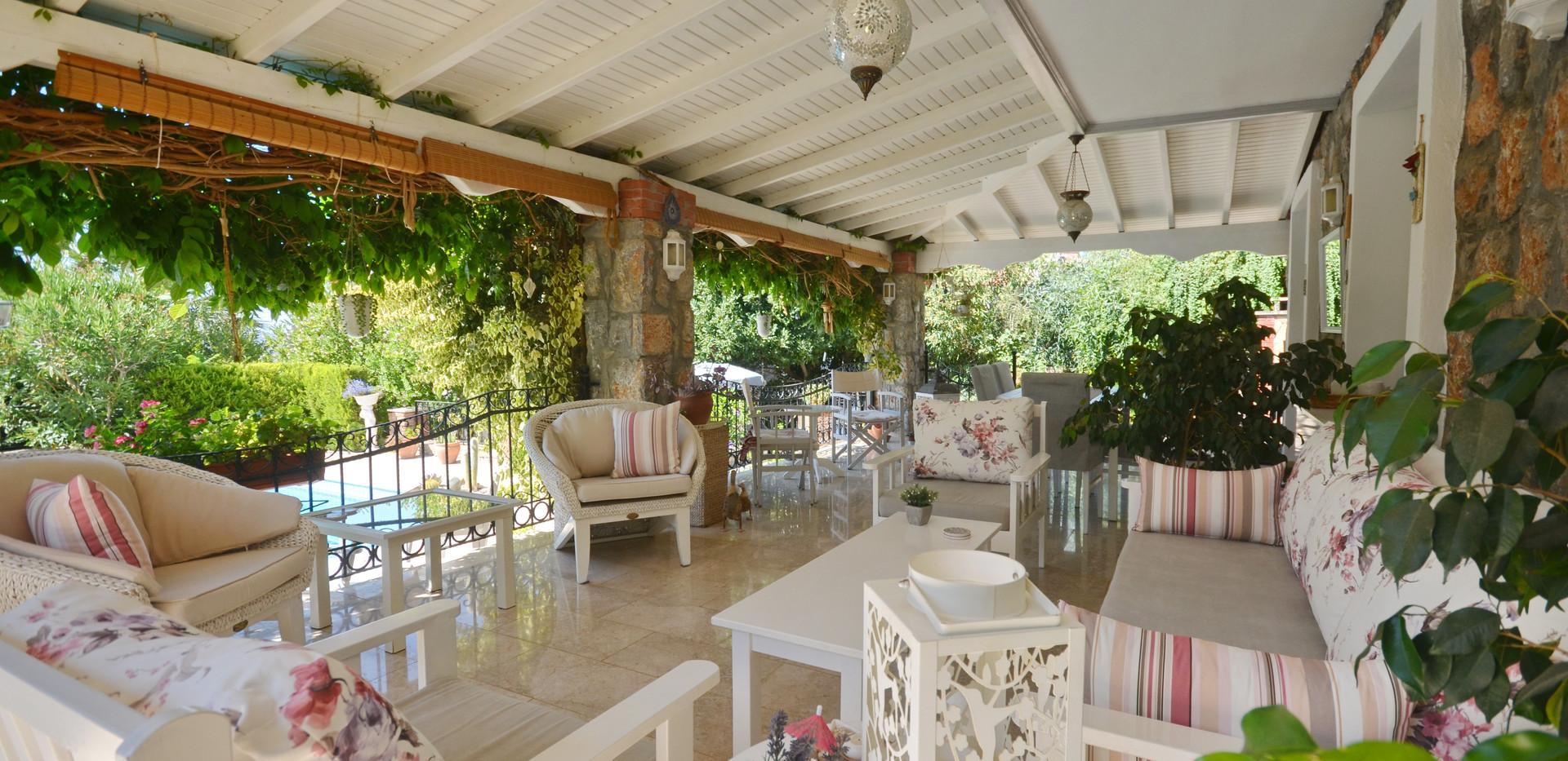 Lovely Poolside Terrace