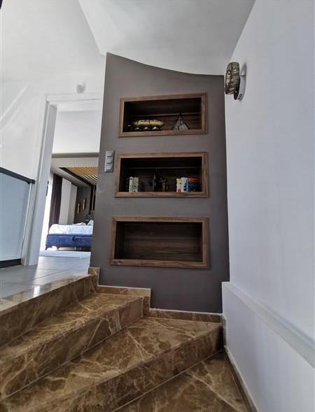 Marble Stairs/Upper Hallway