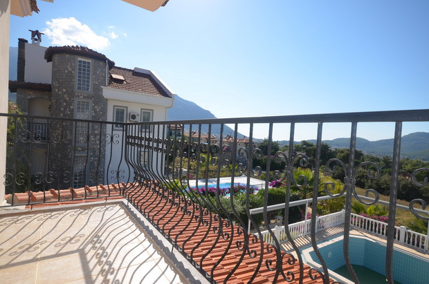 Balcony from Bedroom One