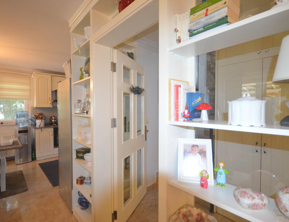 Hallway to Living Area