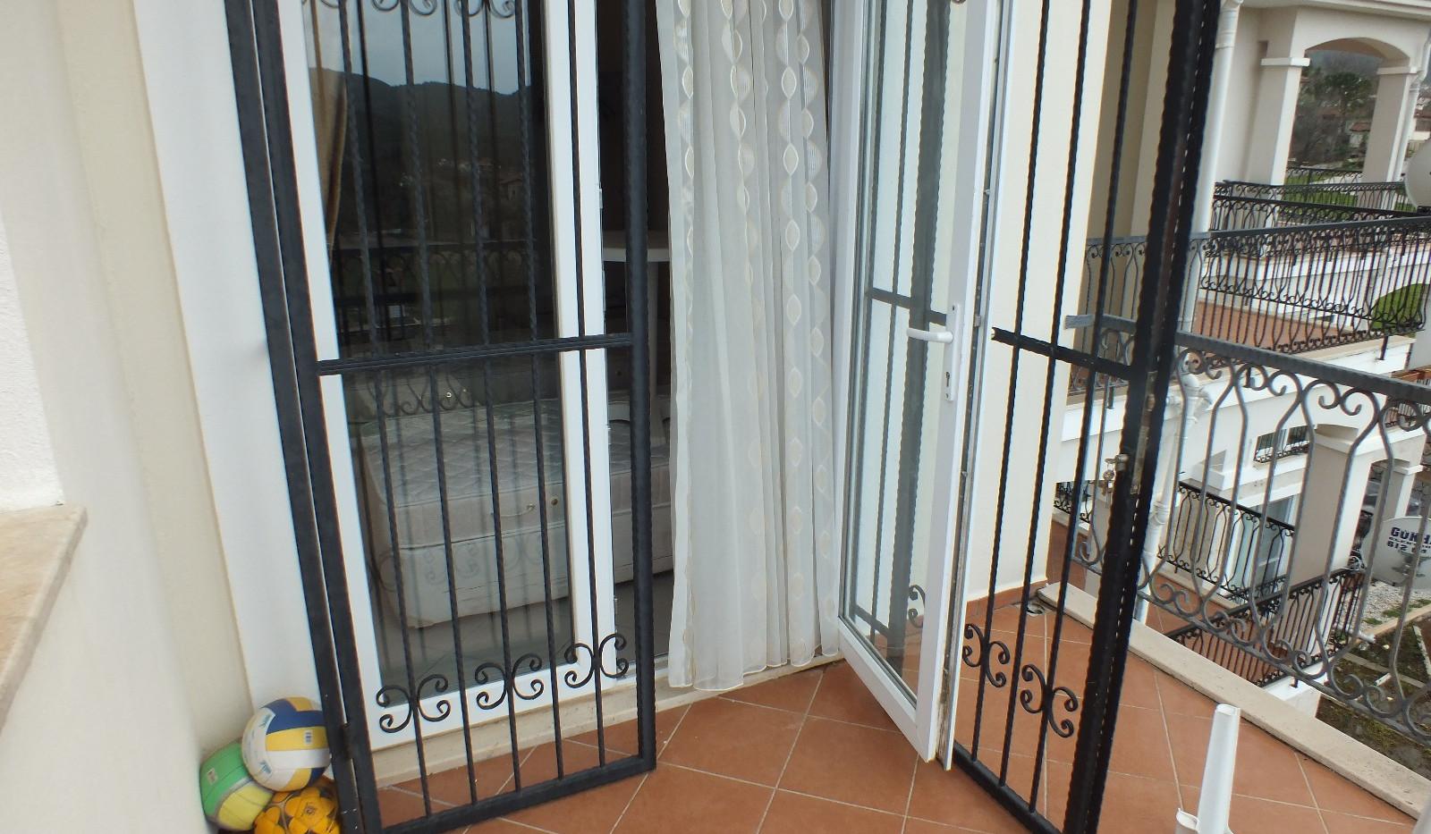Secure terrace