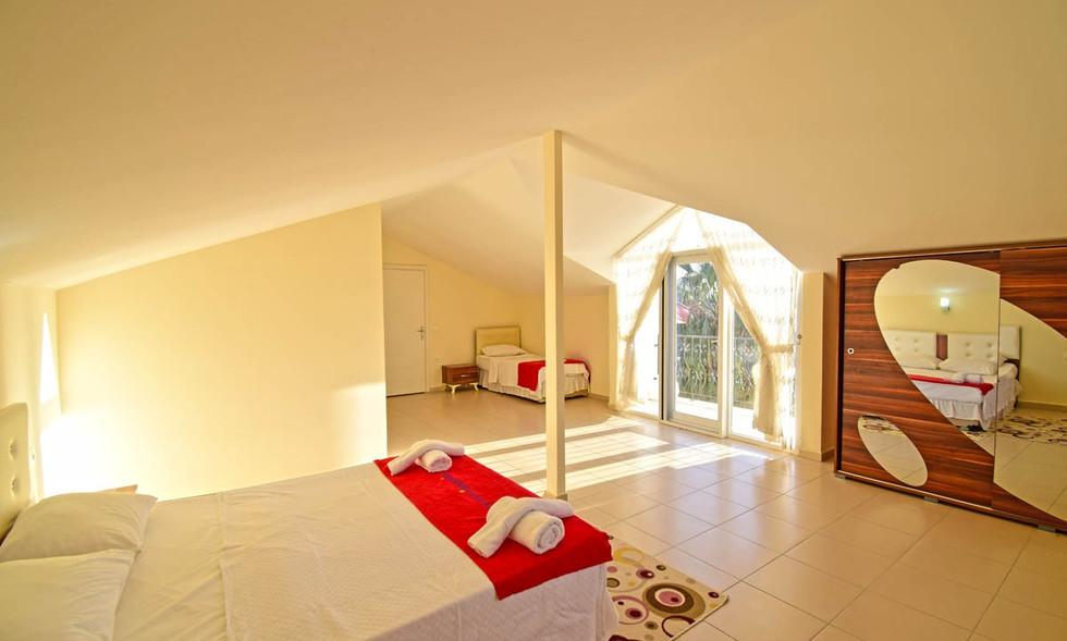 Bedroom Five, Triple Room