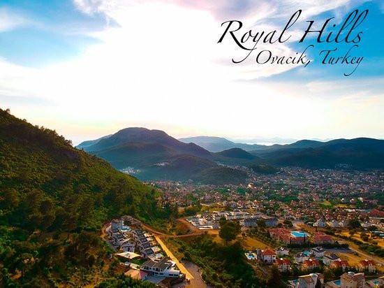 Royal hills is in upper Ovacik