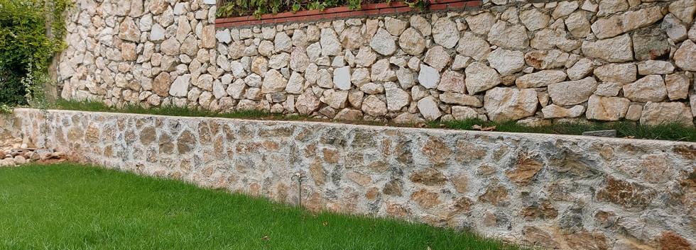 Rear Stone Walla Boundaries