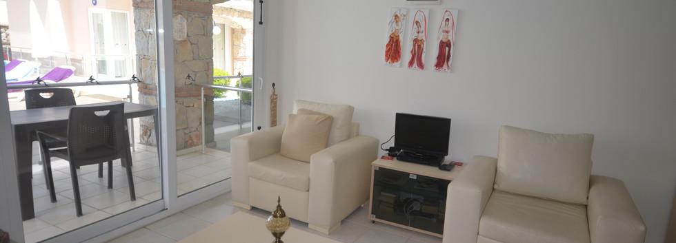 Lounge to Terrace Balcony