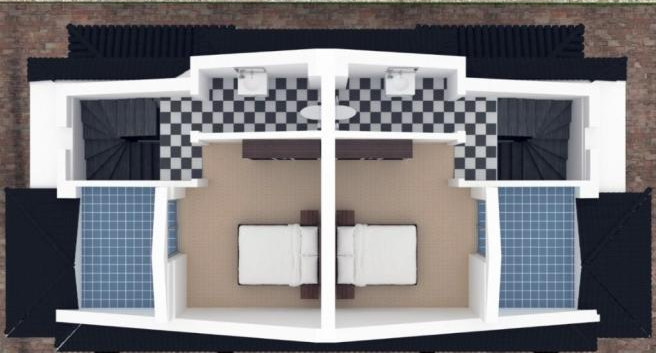 Roof Plan for Block