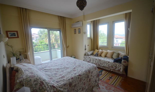 Bedroom One, with Side Balcony