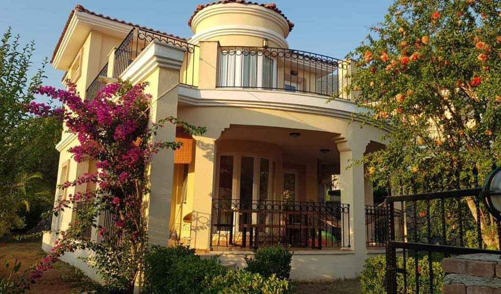 Large curved balcony
