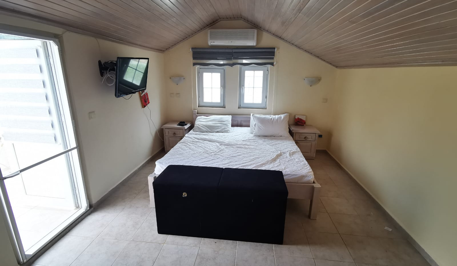 Bedroom Two with Balcony Off