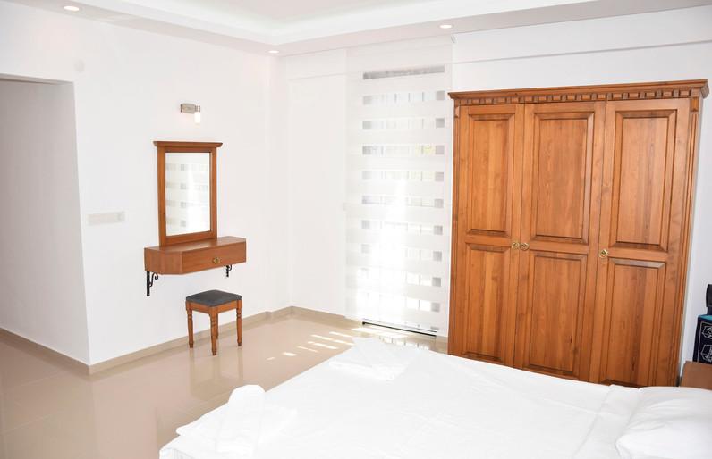 Bedroom One, 2 Balconies Off
