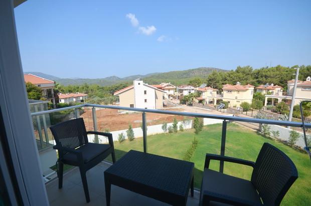 Rear Balcony