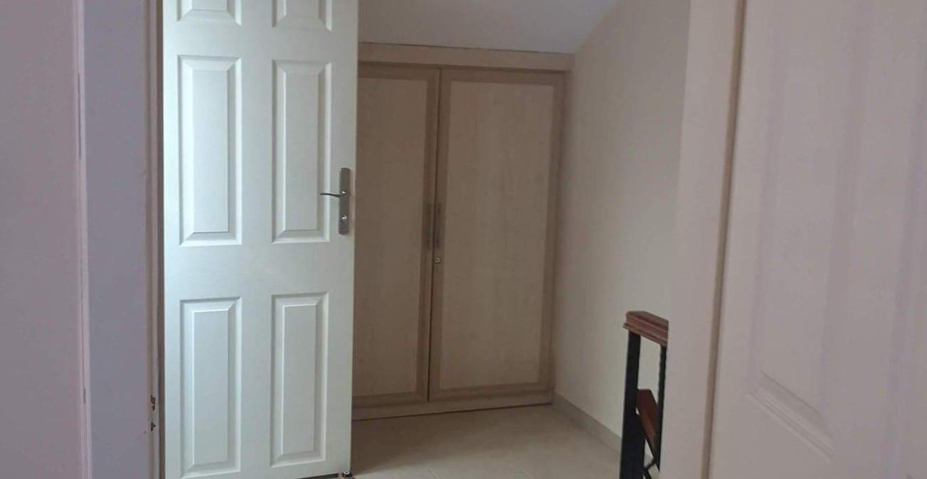 Upper Hallway with Storage