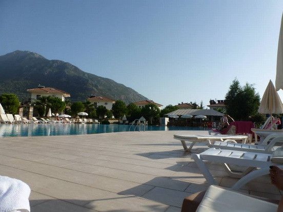 Amble Sunbathing Areas