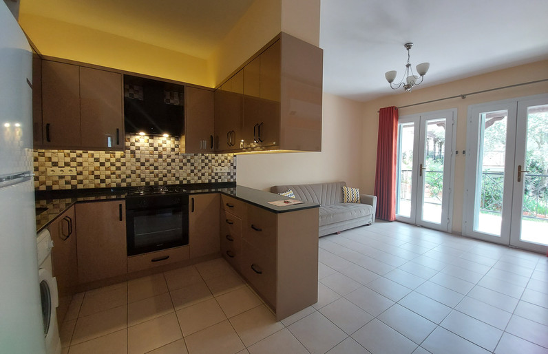 Kitchen and Lounge Open Plan