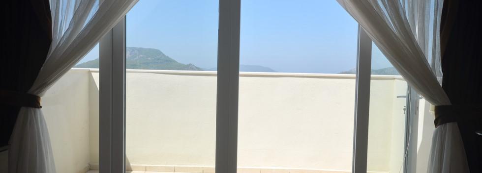 Private Upper Balcony