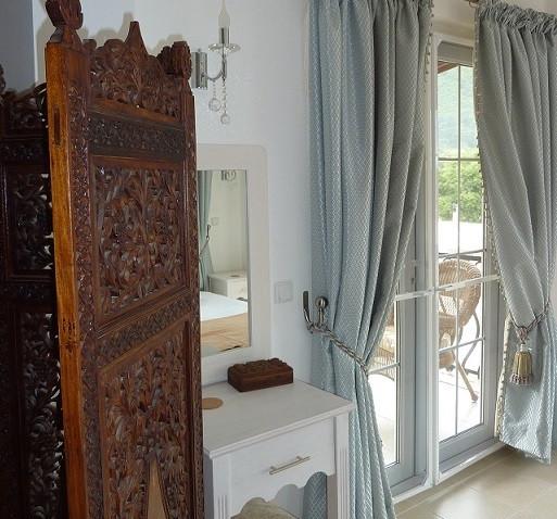Master Bedroom has Balcony off