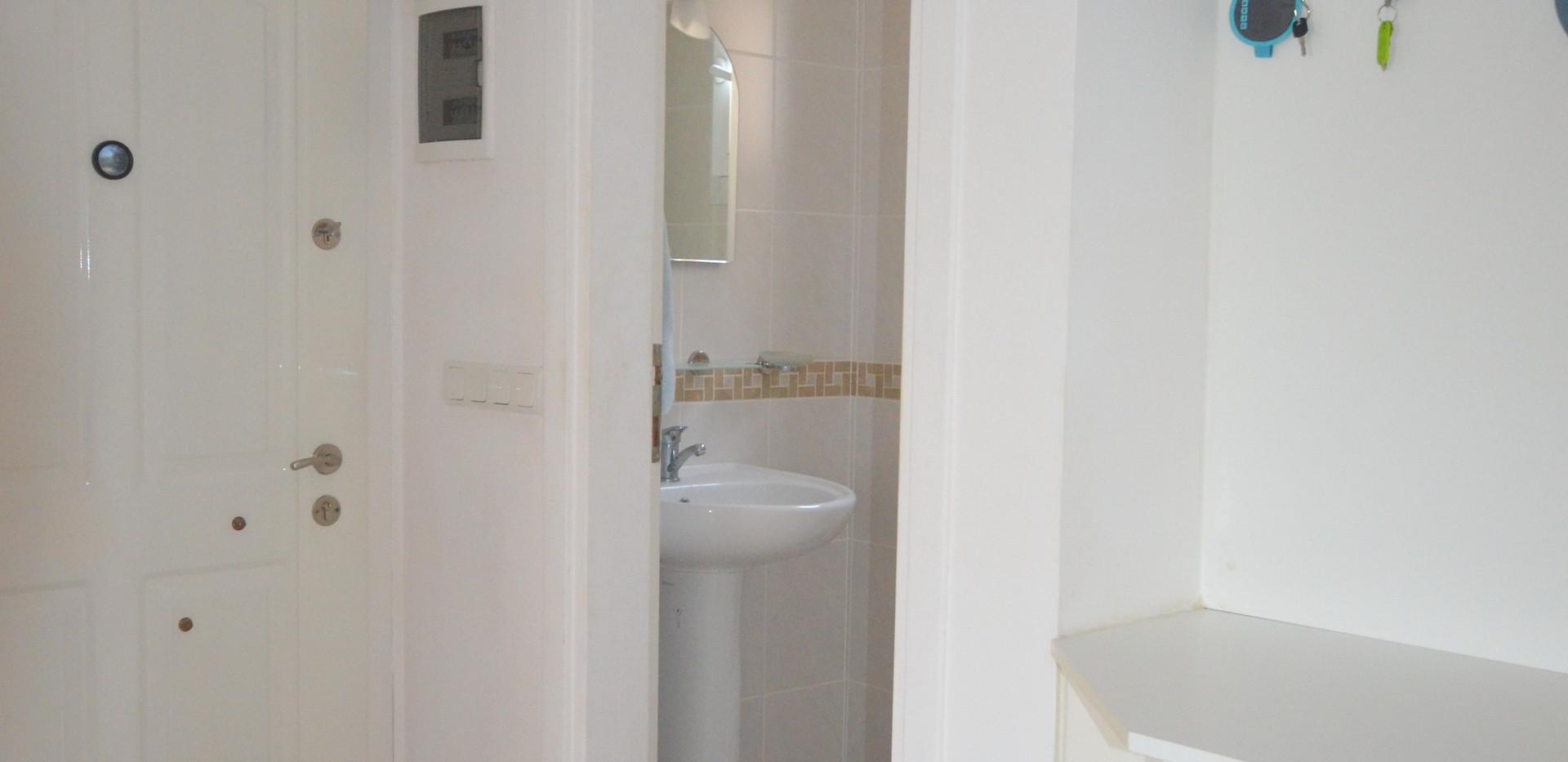 Steel Door, Living Level WC Off