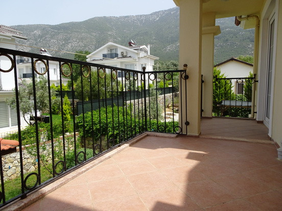 Rear Balcony Terrace Off Bedroom
