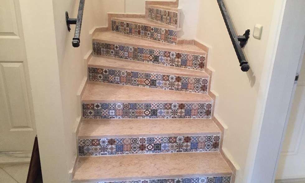 Ottoman Tiled Stairs