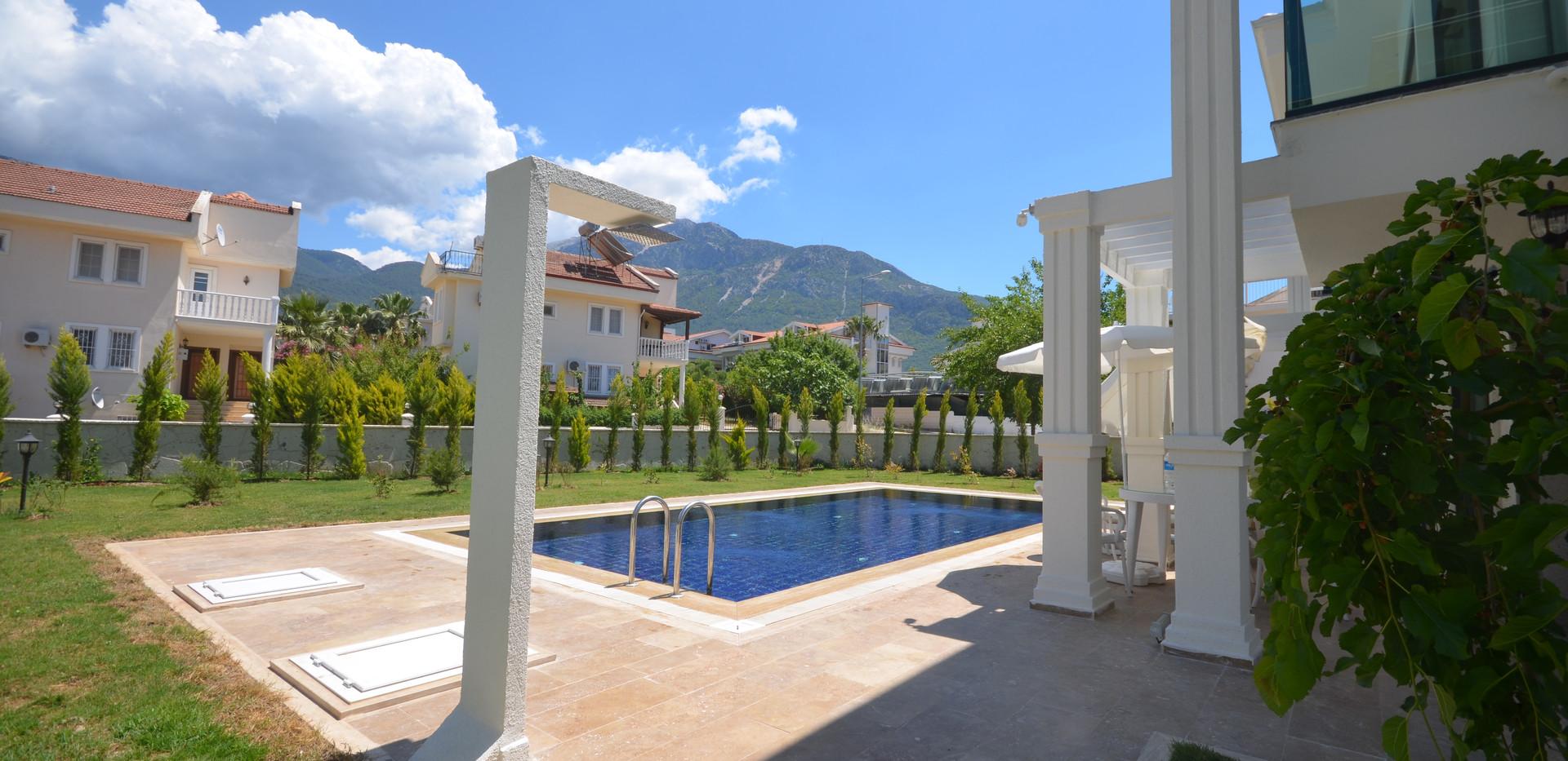 Poolside Shower, Enclosed Gardens