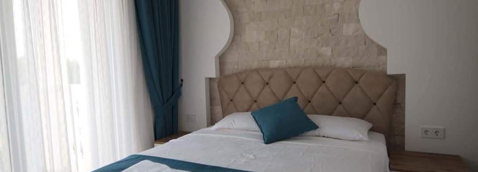 Bedroom one with balcony