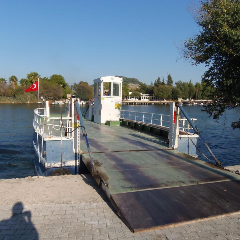 Ferry Boat Dalyan Koycegiz