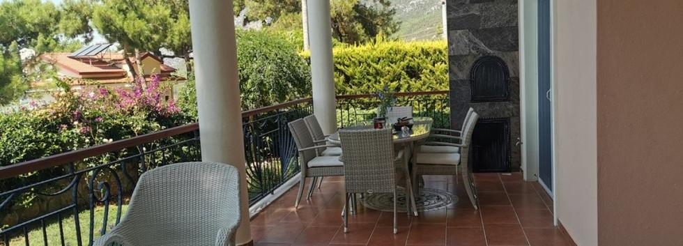 BBQ Terrace Balcony