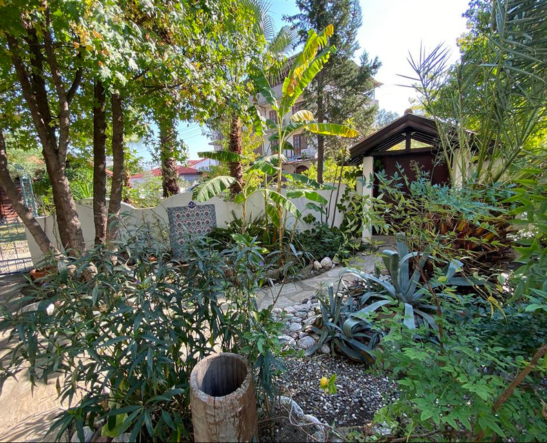 An Oasis of Private Gardens