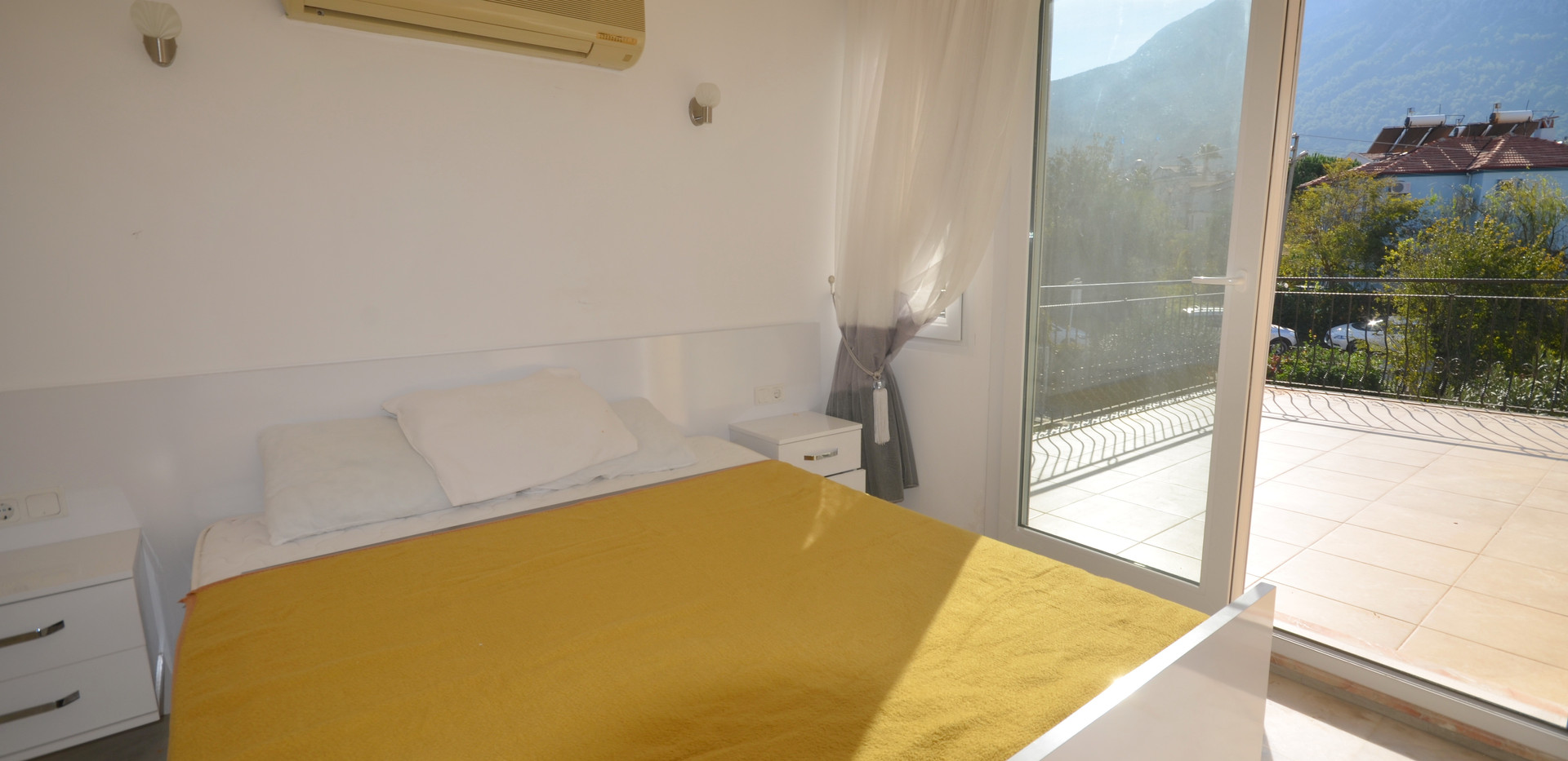 Air-Conditioned Bedroom