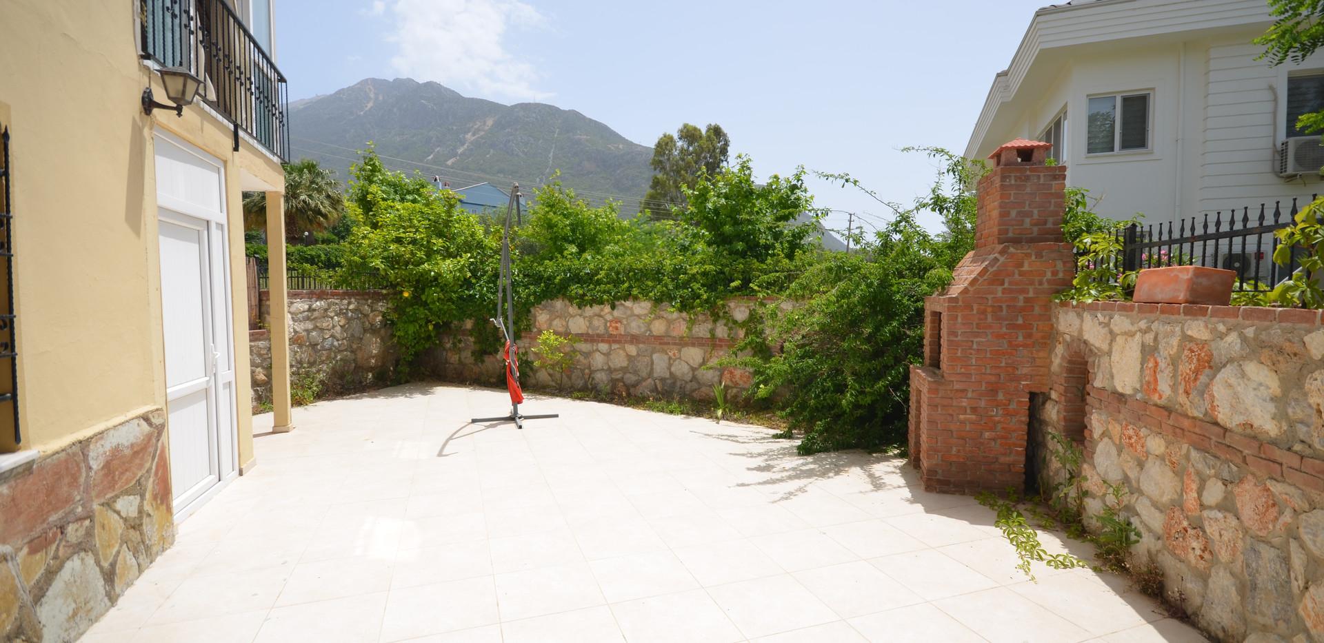 Enclosed Garden Patio