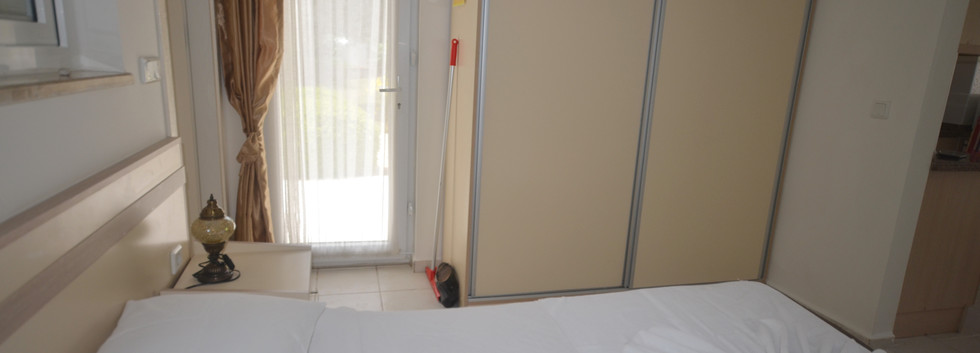 Bedroom Storage & Rear Balcony Off