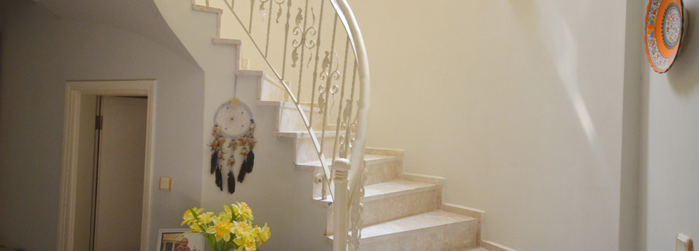 Sweeping Marble Stairs
