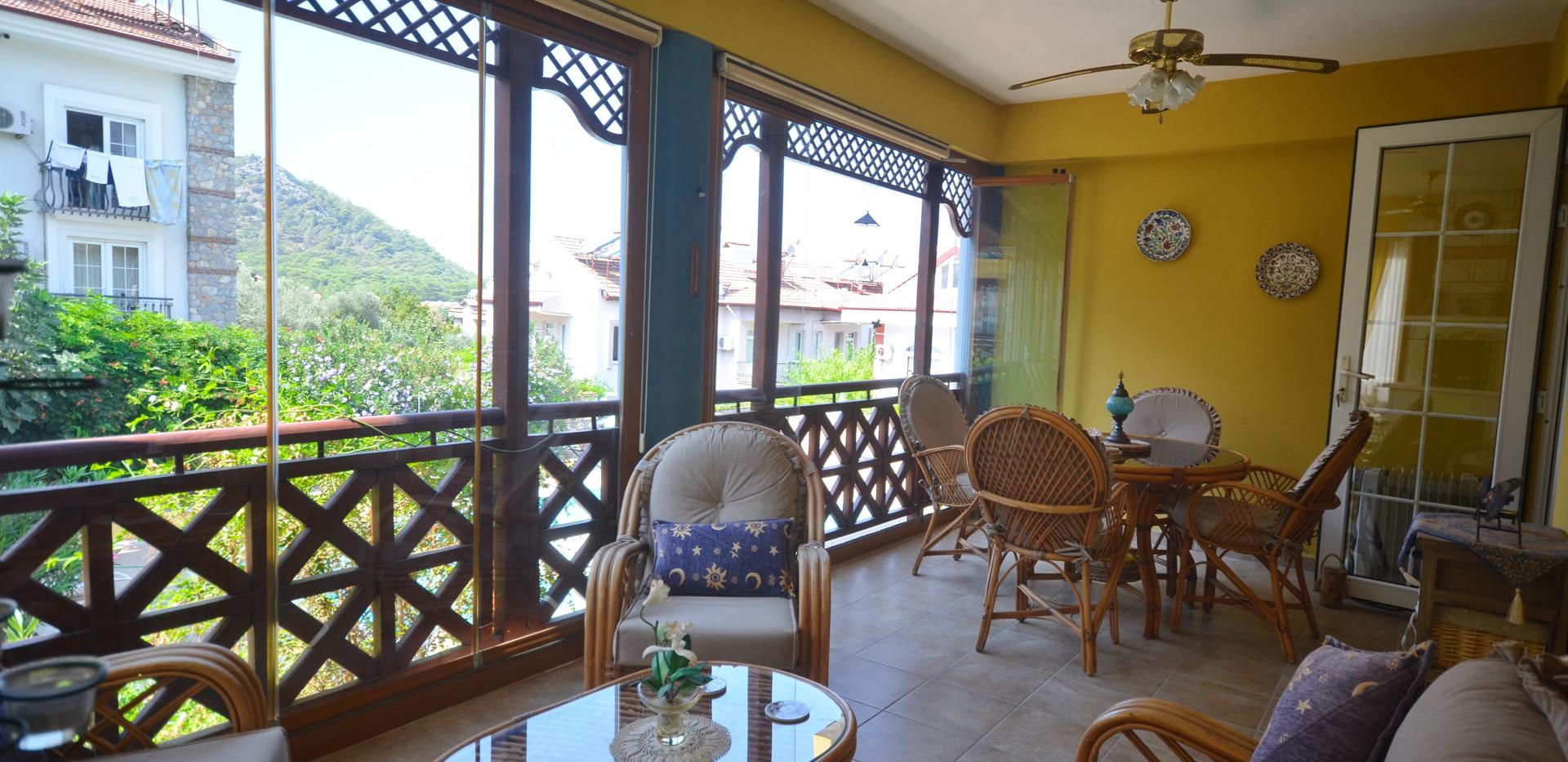 Large Terrace Balcony