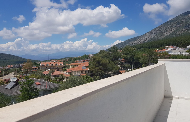 Roof Terrace, from Bedroom Three