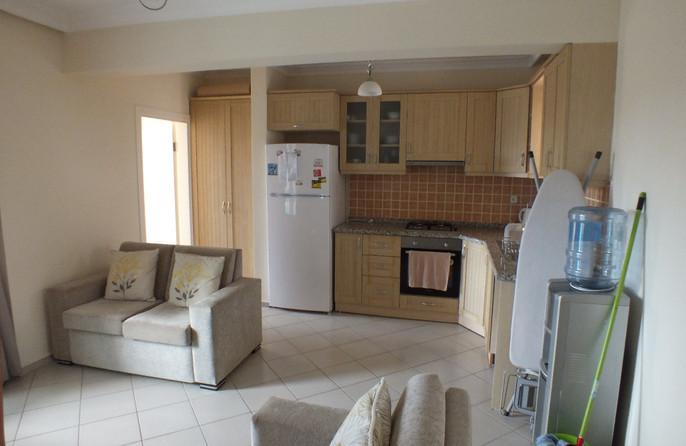 Lounge through to kitchen